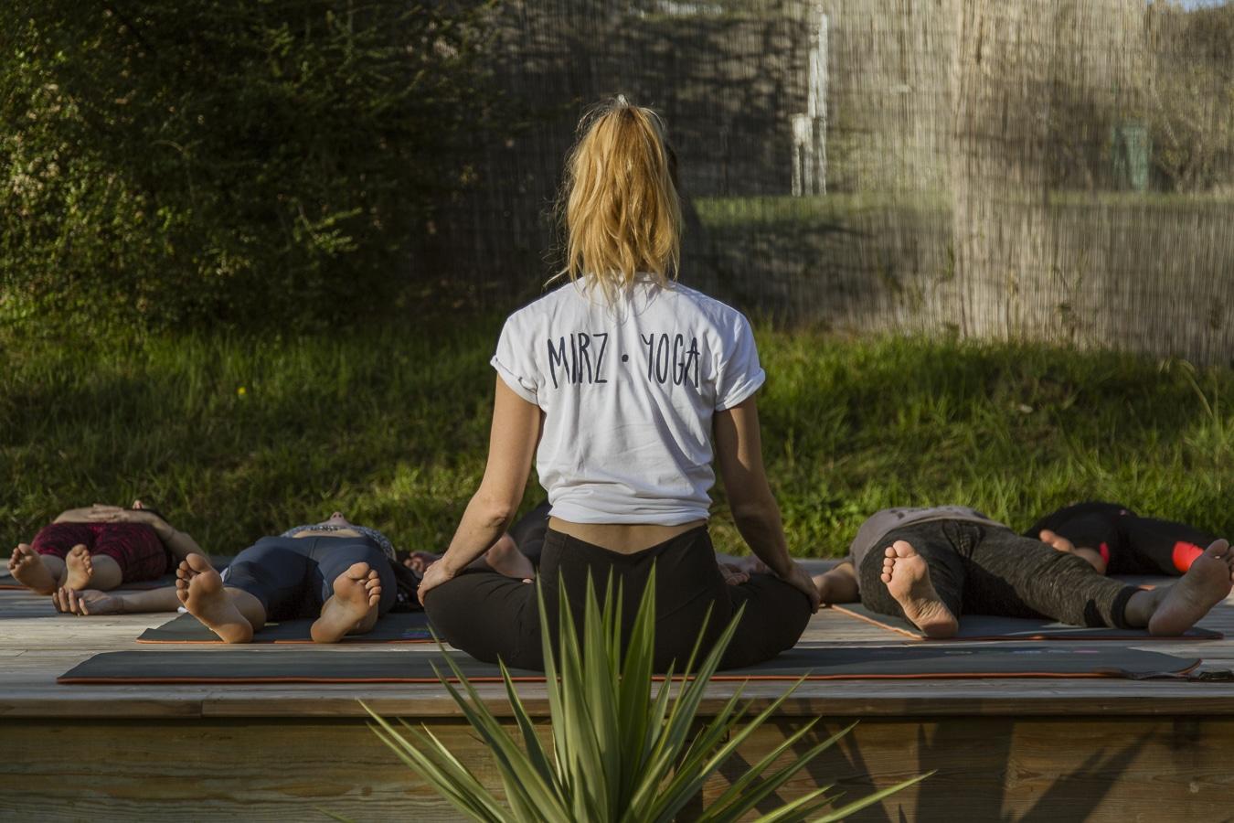Photographie Séance yoga